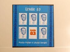 TIMBRES DE TURQUIE : 1983 YVERT BLOC FEUILLET N° 25** NEUF SANS CHARNIERE - TBE