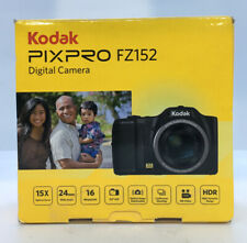 Kodak PIXPRO FZ152 CCD Compact Digital Camera - Black C3