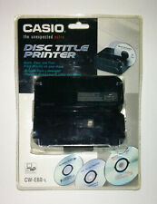 Casio Disc Title Printer - CW-E60 - NEW - Sealed - Damaged Package
