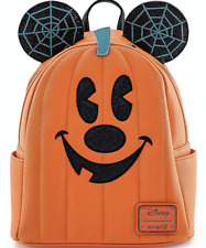 Disney Mickey Mouse Jack-o'-Lantern Mini Backpack by Loungefly New with Tags