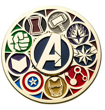 Avengers Endgame 2019 SDCC Comic Con Exclusive Spinner Spinning Enamel Pin TOYNK