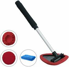 Windshield Cleaning Tool Unbreakable - Car Window Cleaner with Extendable Handle