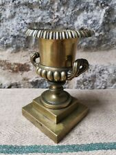 More details for a 19th century polished bronze campana urn