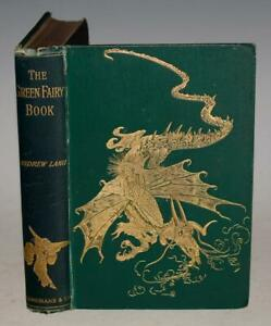 Andrew Lang Green Fairy Book RARE Early 1895 FORD Dragon Little Pigs Rosanella