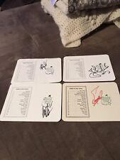 Lot Of 4 Autographed Masters Scorecards Couples, zoeller