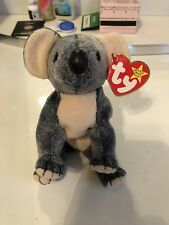 Ty Beanie Baby Koala Eucalyptus- Mint Condition With Tags