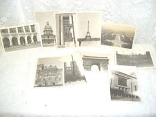 Ww Ii Photos Paris France 1940 's Lot of Eleven