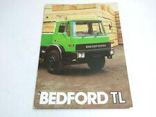 Vintage 1980'S Era Bedford Tl Gm Truck Dealer Brochure