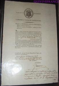 doc016 - DIOCESE DE DIJON 1804 nommination de prêtre à DOULEVANT