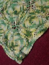 Vintage Handmade Crochet Bedspread / Coverlet