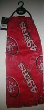 NFL San Francisco 49ers Little Earth Sheer Infinity Scarf NWT