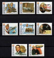MICRONESIA, Scott # 233, COMPLETE SET OF 8 PIONEERS OF FLIGHT, MINT NEVER HINGED