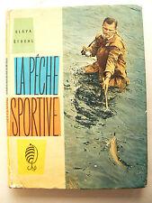Livre Pêche Sportive de Slava STOCHL  1961  Truite saumon mouche trout salmon