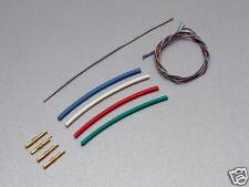 "CARDAS CABLE 475mm (12"") TONEARM REWIRE KIT for SME LINN REGA JELCO"