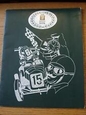 10/05/1974 Rally Driving The TR Annual Dinner, Official Programme For The Event