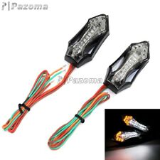 Universal Motorcycle LED Turn Signal Lights Blinker Indicator For Kawasaki Honda