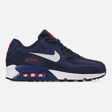 Nike Air Max 90 Essential Mens Casual Shoes Navy/red/white