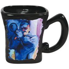 Westland Giftware SS-WL-21080 Black Ceramic Coffee Mug with Jazz Blues Trumpet