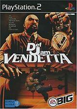 Def Jam Vendetta PS2 PlayStation 2 Video Game Original UK Release