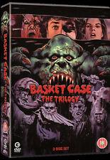 BASKET CASE TRILOGY - 3 DISC DVD BOXSET - UNCUT - FRANK HENENLOTTER