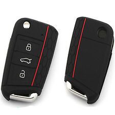 Silicone Car Key Case Remote Key Bag Holder Cover Fr Volkswagen VW Golf 7 mk7