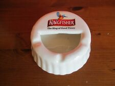 Kingfisher Beer Ashtray. Bottle Top Shaped.