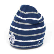 "Toronto Maple Leafs ""Pond"" NHL striped Beanie Hat"