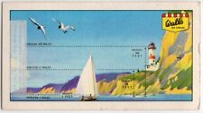 Horizon Distance Depends On Eye Height Above Sea Level Vintage Ad Trade Card