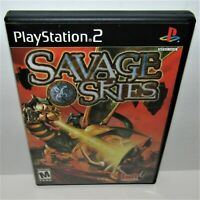 Savage Skies (Sony PlayStation 2, 2002) Complete Tested & Working