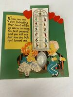 Rare Vintage Matrimony Thermometer/Valentines Card Made In Germany
