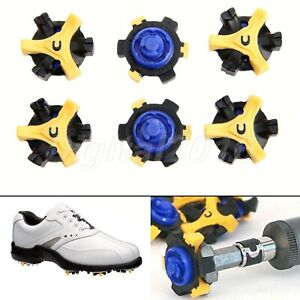 14 Replacement Golf Shoe Spikes Champ Cleat Fast Twist Tri-Lok Studs For Footjoy