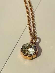 Fiorelli Rose gold plated Necklace Swarovski crystal, Gift Bag jewellery for her