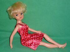 1982 Sunshine Sindy® Doll & Pretty Dress ~ Hard to Find 'Lady Di' Short Haircut