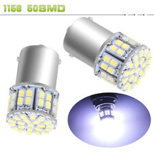 10x 7000K White 1156 BA15S 48SMD 5630 Chip LED Turn Signal Brake LED Light Bulbs