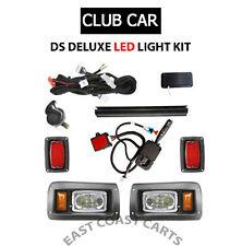 Club Car DS Golf Cart Street Legal FULL LED DELUXE Light Kit