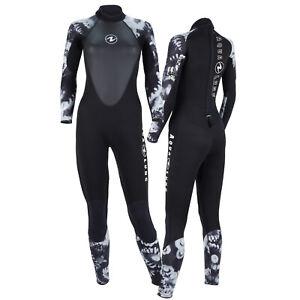 AquaLung Hydroflex 3mm Damen Tauchanzug schwarz-weiß