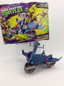 Teenage Mutant Ninja Turtles Hover Drone Flying Firing Enemy Scout Ship Boxed