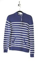 Vineyard Vines Boys Navy and White Stripe Beach Hoodie Size Large