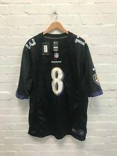 Baltimore Ravens Nike Men's NFL Game Jersey - XXL - Jackson 8 - Black - NWD