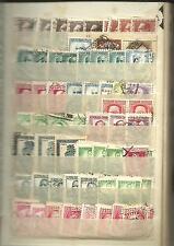 España. Clasiicador con 20 hojas y con cientos de sellos de España y Colonias