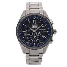 Seiko Astron GPS Solar 5 Jahrestag Le Quarz Titan Herren Armbanduhr sse145