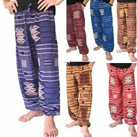 Baggy Pants Cotton Harem Ali Baba Hippie Boho Trousers Men's Women's Genie New