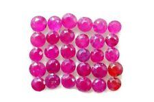 2.55 CTS Natural Ruby Diamond Cut 2.5-3 mm 30 Pcs Natural Loose Gemstones