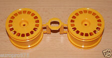 Tamiya 58387 Avante Mk.II/DF03, 0440291/10440291 Rear Wheels (2 Pcs.), NEW