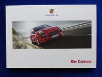 Porsche Cayenne S Diesel Hybrid GTS Turbo - Hardcover Prospekt Brochure 06.2012