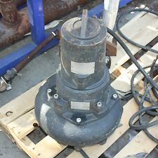 "ABS submersible sewage sump pump AFP1C41WD220W 4kW DN100 4"" 10 metre cable."