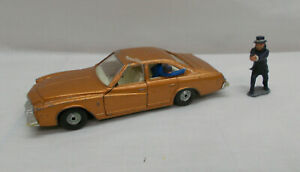 Vintage Corgi 290 Kojak's Buick Regal Car With Figures - Made In Gt Britain