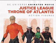 Dc Universe Animated Movie Justice League Action Figures Retailer Promo Poster