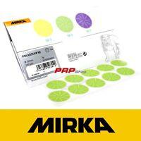 Mirka Polarstar SR5 Verde n°100 Dischi Abrasivi 32mm 5µ Levigatura Di Precisione