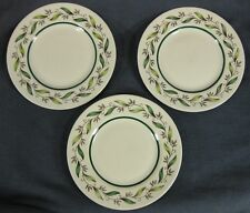 Royal Doulton ALMOND WILLOW D6373 Bread & Butter Plates Lot of 3